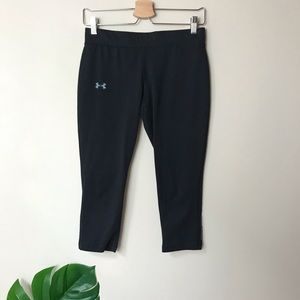 Under Armour | Fitted Capri Leggings Heat Gear Sm